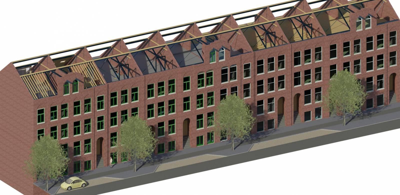 Renovatie Amsterdam, Wijttenbachstraat 37 t/m 55
