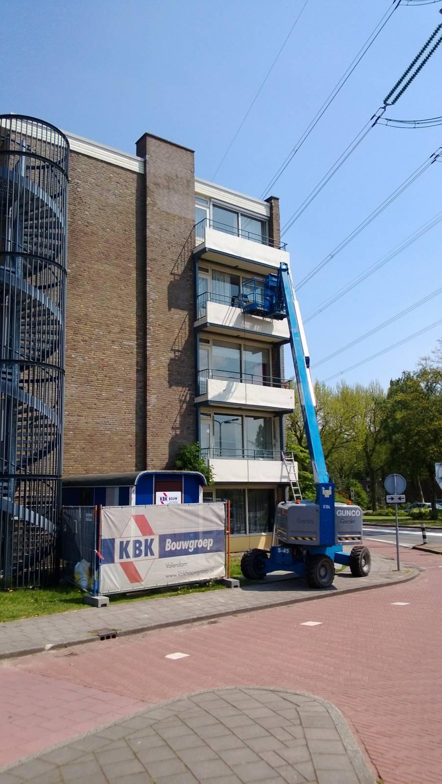 Renovatie balkons Zaandam, Kogerveld