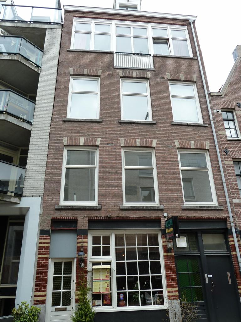 Funderingsherstel Amsterdam, Utrechtsedwarsstraat 85-87