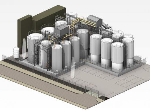 Uitbreiding Tankenpark Loders Croklaan