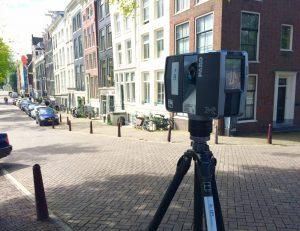 3D Scanning te Amsterdam